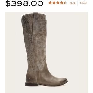 Gorgeous leather follows a classic riding boot